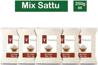 Trinetra Best Quality Mix Sattu 250g (Pack Of 5)