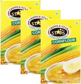 TRIPPLESTAR Corn Flour 100 g Pack of 3