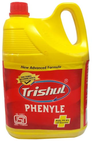 Trishul Black phenyle Disinfectant Floor & Surface Cleaner-5 L