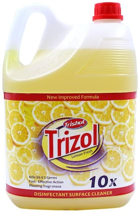 Trishul Trizol Disinfectant Surface Cleaner with 10x Power,5 L