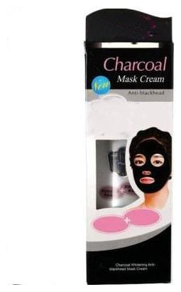 TRIVETY Charcoal peel off mask Face Mask Cream Blackhead Removal Pack of 1