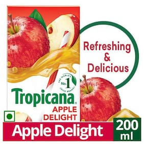 Tropicana Fruit Juice - Delight, Apple 200 ml