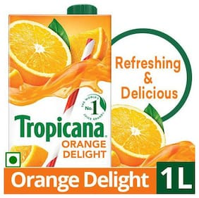 Tropicana Fruit Juice Delight  Orange 1 L