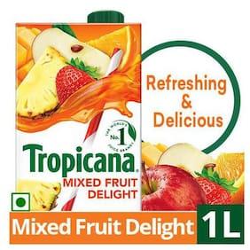 Tropicana Fruit Juice Delight  Mixed Fruit 1 L