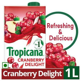 Tropicana Fruit Juice Delight  Cranberry 1 L