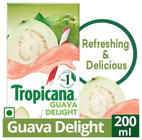 Tropicana Fruit Juice Delight Guava 200 ml