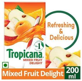 Tropicana Fruit Juice Delight Mixed Fruit 200 ml
