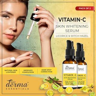 True Derma Essentials Vitamin - C (Skin Whitening) Face Serum 30 ml (Pack Of 2)
