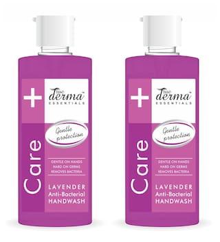 True Derma Essensials Anti-Bacterial Handwash Lavender 500ml Each (Pack of 2)