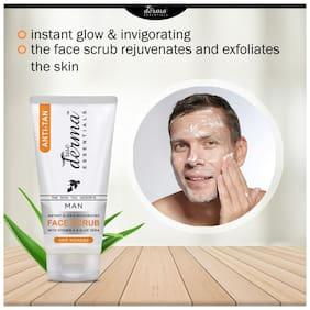 True Derma Essentials Anti-Tan (Insta Glow )Face Scrub -100ml(Pack of 1)