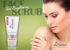 True Derma Essentials Insta Glow (Skin Brightening) Face Scrub-100ml(Pack of 1)