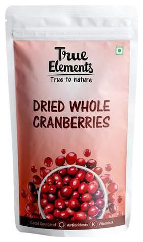 True Elements Dried Whole Cranberries 30g