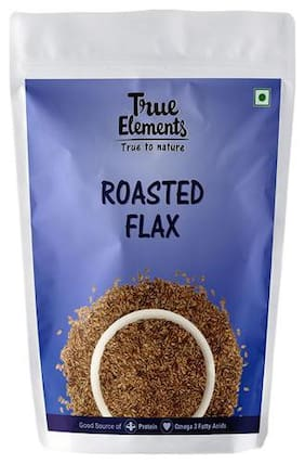 True Elements Flax Seeds - Roasted 125 g