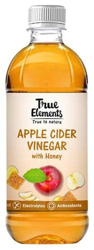 True Elements Apple Cider Vinegar with Honey 500 ml