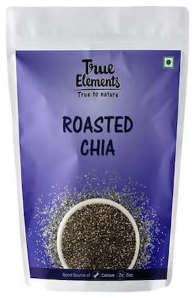 True Elements Chia Seeds - Roasted 125 g