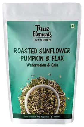 True Elements Sunflower Pumpkin & Flax Seeds - Roasted, Watermelon & Chia, Harippa 125 g