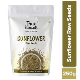 True Elements Raw Sunflower Seeds 250g