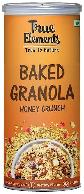 True Elements Baked Granola Honey Crunch 350g
