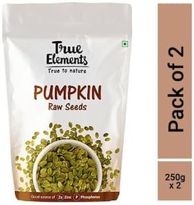 True Elements Raw Pumpkin Seeds 250gm each (pack of 2)