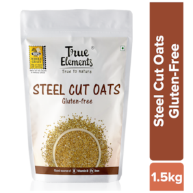 True Elements Steel Cut Oats Gluten Free 1500 g