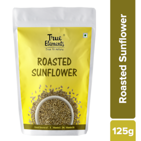 True Elements Roasted Sunflower Seeds 125g