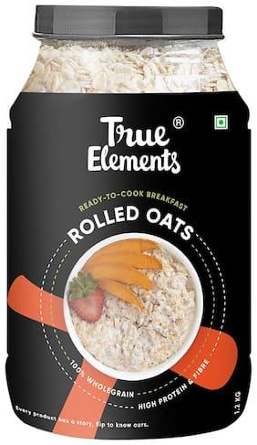 True Elements Rolled Oats 1.2kg