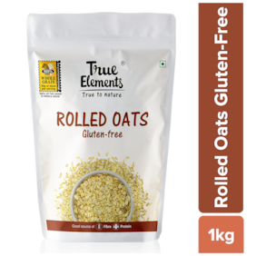 True Elements Rolled Oats Gluten Free 1000 g