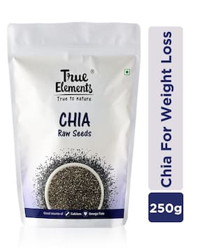 True Elements Raw Chia Seeds 250g