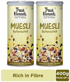 True Elements Butterscotch Muesli 400g Pack of 2