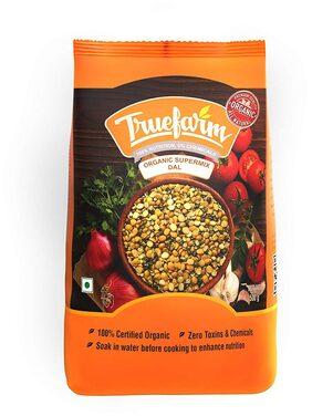 Truefarm Foods Organic Super Mix Dal 500 gm