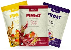 TruNativ Froat Assorted Pack | Oat & Fruit Drink Mix | High Fibre Swedish Oats | All Natural | No Added Sugar | 3 x 40 g sachets in a box