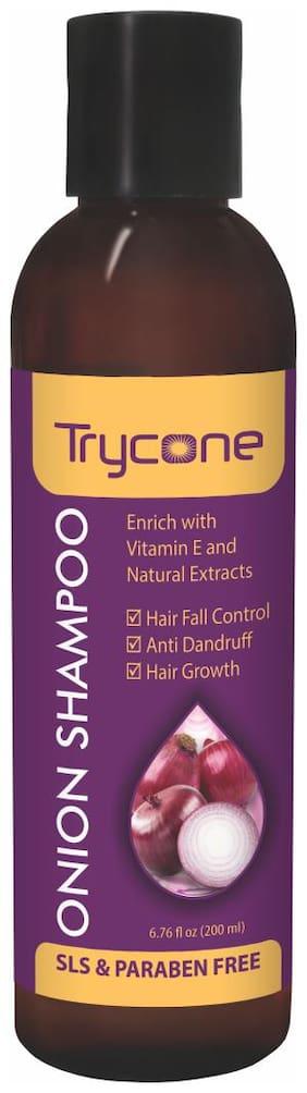 Trycone Onion Shampoo for Hair Growth with Vitamin E 200 Ml