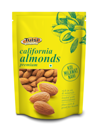 Tulsi California Almonds Premium 500g