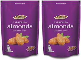 Tulsi California Roasted Almonds Lightly Salted 400g  (200g x 2)