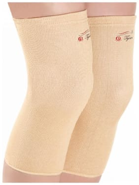Tynor Stretchable Knee Cap Pair - EXTRA Large (Beige)