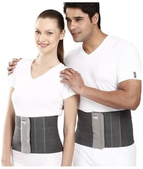 Tynor Tummy Trimmer/ Abdominal Belt 8 Abdomen Support (L, Grey)