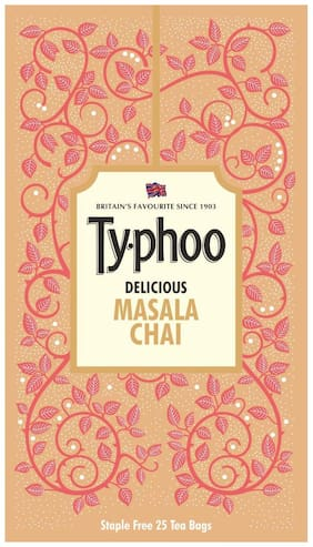 Typhoo Delicious Masala Chai 100 TeaBags (Pack Of 1)