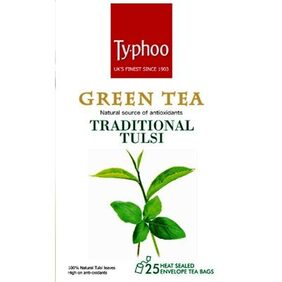 Typhoo Green Tea Traditional Tulsi 25 Tea Bags(Pack Of 2)