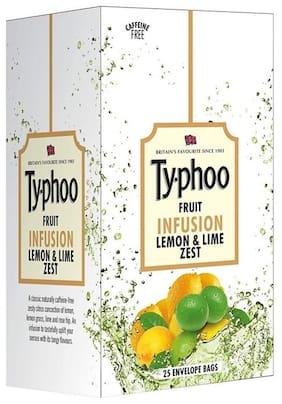 Typhoo Lemon & Lime Zest Fruit Infusion tea bags- 25 Tea bags