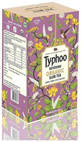 Typhoo Organic Herbal Infusion Slim Tea Envelope 20 Tea Bag