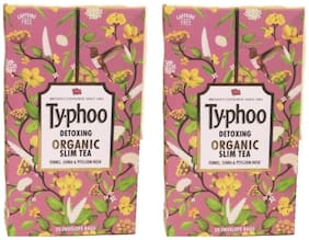 Typhoo Slim Tea 20 Tea Bags (Pack of 2)