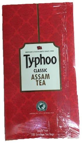 Typhoo Tea Bag Assam Classic Envelope 100 Teabags (Pack Of 1)