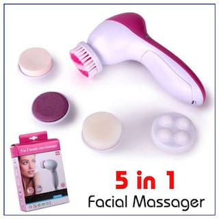 TZS 5 IN 1 Body Face Beauty Care Facial Massager