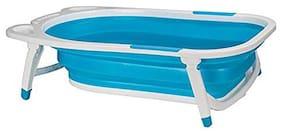 U-Grow Silicone Folding Baby Bath Tub - Blue