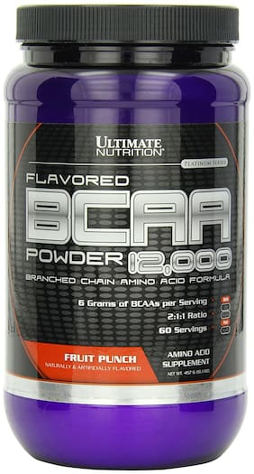 Ultimate Nutrition Flavored BCAA 12000 Powder 457 g Fruit Punch