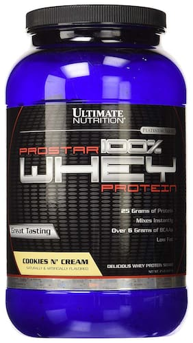 Ultimate Nutrition Prostar 100% Whey Protein 0.90 kg (2 lb) Cookies & Cream