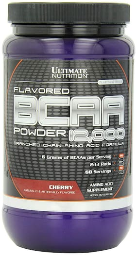 Ultimate Nutrition Flavored BCAA 12000 Powder 457 g Cherry