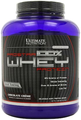 Ultimate Nutrition Prostar 100% Whey Protein 2.39 kg (5.28 lb) Chocolate Creme