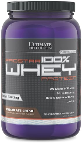 Ultimate Nutrition Prostar 100% Whey Protein 2Lbs - Chocolate Creme