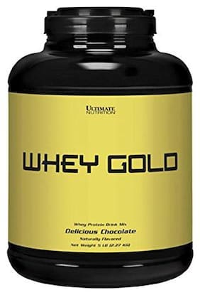 Ultimate Nutrition Whey Gold 2.26 kg (5 lb) Delicious Chocolate